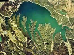 満濃池の写真