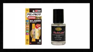 ワーム補修液や接着剤の画像
