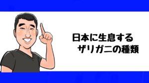 h2見出し2「日本に生息するザリガニの種類」の装飾画像