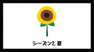 h3見出し7「シーズン2,夏」の装飾画像