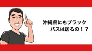 h2見出し1「沖縄県にもブラックバスは居るの!?」の装飾画像