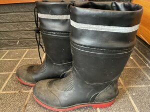 ワークマンで購入した長靴の写真